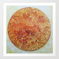 disco Art Prints featuring Disco by Jose Luis