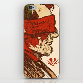 Freedom from Oppression  iPhone Skin