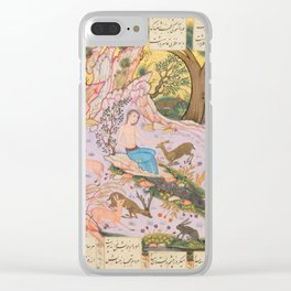 Iranian Art, 17th Century Clear iPhone Case