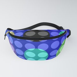 Dots on Elipses Fanny Pack