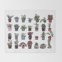 Beesly Botanicals Throw Blanket