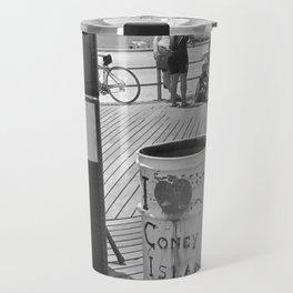 I [heart] Coney Island Travel Mug