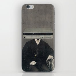 Faces of the Past: VCR iPhone Skin