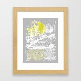 Cosmic Winter Framed Art Print
