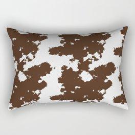 Realistic cow hide pattern Rectangular Pillow