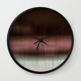 A Seaside Town Wall Clock