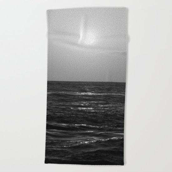 Slow Glow Beach Towel