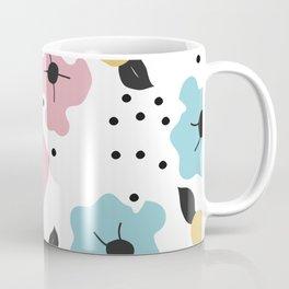 Abstract fowers Coffee Mug