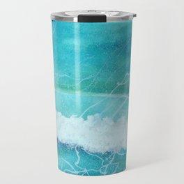 First Ocean Wave. Travel Mug