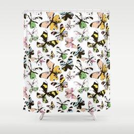 Ghosts of butterflies Shower Curtain
