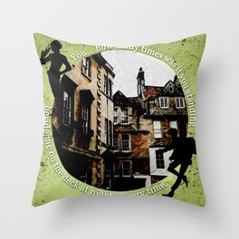 Jesper and Wylan - Every Time Throw Pillow