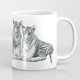 White Tiger Babies Coffee Mug
