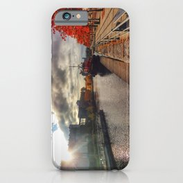 Lachine Canal Old Port Montreal iPhone Case