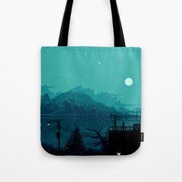 Dark Harbor Tote Bag