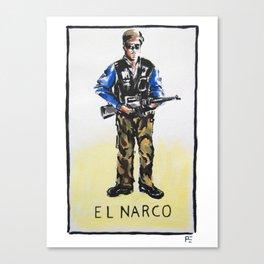 El Narco Canvas Print