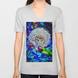 Abstract - Perfektion - Pusteblume Unisex V-Neck
