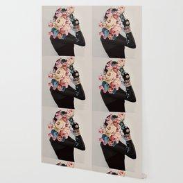 Black of flowers Wallpaper
