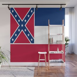 Flag of mississippi-flag of mississippi,south,Mississippian,usa, america,jackson,gulfport,Southaven Wall Mural