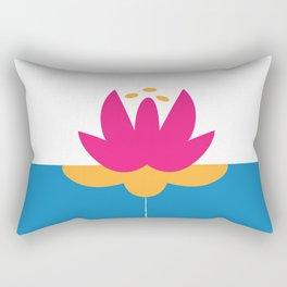 FlowerPower Rectangular Pillow