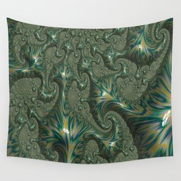 Green Oxidation Wall Tapestry
