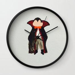 Trick or Treat Halloween Toddler Vampire Dracula Wall Clock
