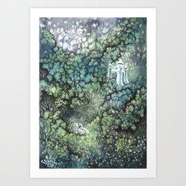 Bois Dormant Art Print