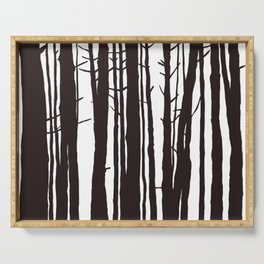 The Trees and The Forest Serving Tray