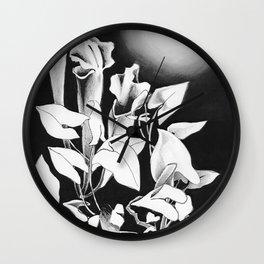 Moonlit Rendezvous Wall Clock