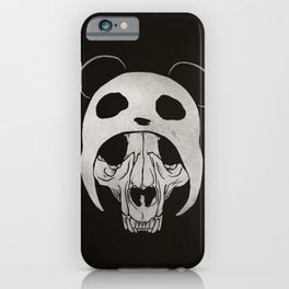 Panda Skull iPhone Case
