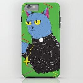 Cat Priest iPhone Case