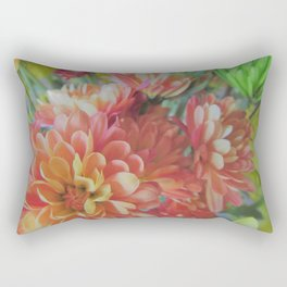 Fall Mum Bouquet Rectangular Pillow