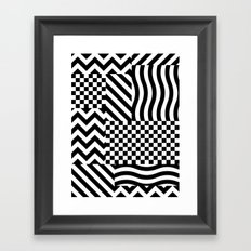 Dazzle 01 Framed Art Print