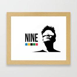 NINE by Kelvin Huggins Framed Art Print