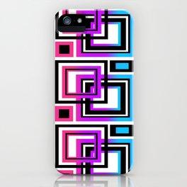 Rainbow Geometric iPhone Case