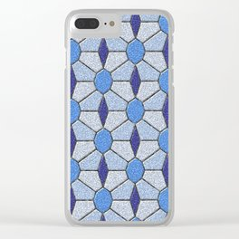 Geometrix 146 Clear iPhone Case