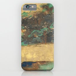 Art Deco Japanese-Inspired Series | Abstract by Saletta Home Decor iPhone Case