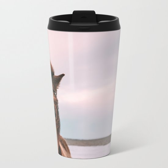 One Eyed Larry Metal Travel Mug