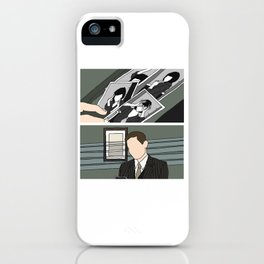 the green mill photos - duo iPhone Case