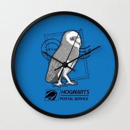 Hogwarts Postal Service Wall Clock