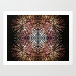 Fireworkin' Art Print