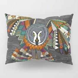 night owl charcoal Pillow Sham