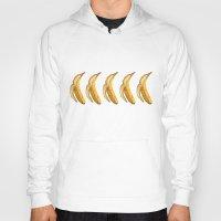 banana Hoodies featuring Banana by Ken Coleman
