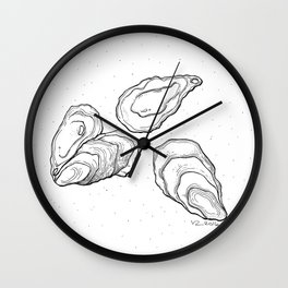 Mother of a pearl Wall Clock