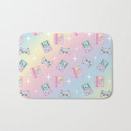 Magical Girl Gaming Rainbow Bath Mat