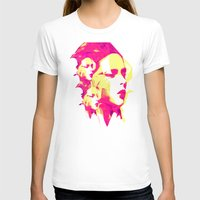 faces T-shirts featuring Faces by Paola Rassu