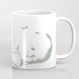 Sleeping Baby - Two tones Coffee Mug