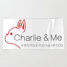 CHARLIE & ME Beach Towel