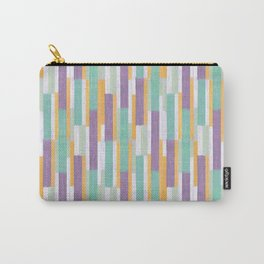 Colored sticks pattern <opera mauve> Carry-All Pouch