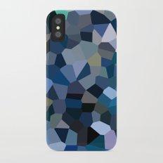 Sky Blue Moon Mountain Dreams Slim Case iPhone X