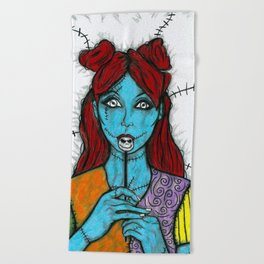 SALLY - THE NIGHTMARE BEFORE CHRISTMAS Beach Towel